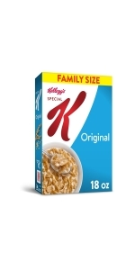 Kellogg'sSpecial K Cereal, Original, Value Size, 18 oz (Pack of 6)Corn Flakes