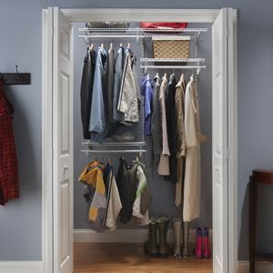 Superb ClosetMaid, ShelfTrack, Wire Closet, Closet Organizer, Wire Shelves,  Adjustable Shelving