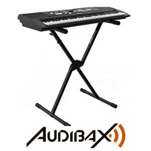 Audibax - Onyx 131 Soporte Piano - Estructura Tijera ...