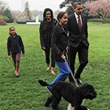 bo obama, sasha and malia obama