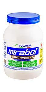 Volchem Mirabol Protein Natural 97%, 750 gramos: Amazon.es ...
