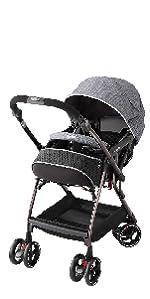 オプティア プレミアム 両対面 押しやすい 赤ちゃん 安全