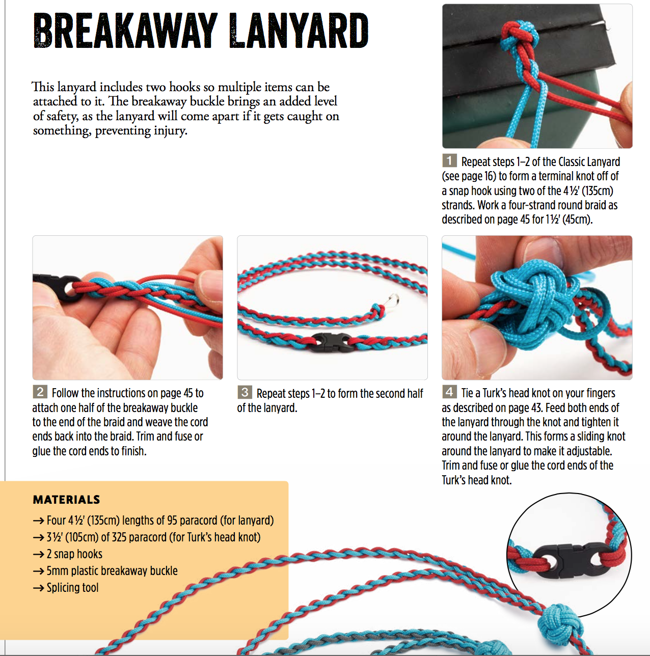 Amazon com: Paracord Outdoor Gear Projects: Simple Instructions for