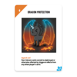 Dragon Protection Card: Unstable Unicorns Dragon Expansion Pack