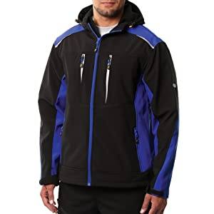 2X-Large Black//Royal Blue Goodyear Workwear GYJKT014 Mens Waterproof Windproof Breathable Canvas Padded Work Safety Jacket