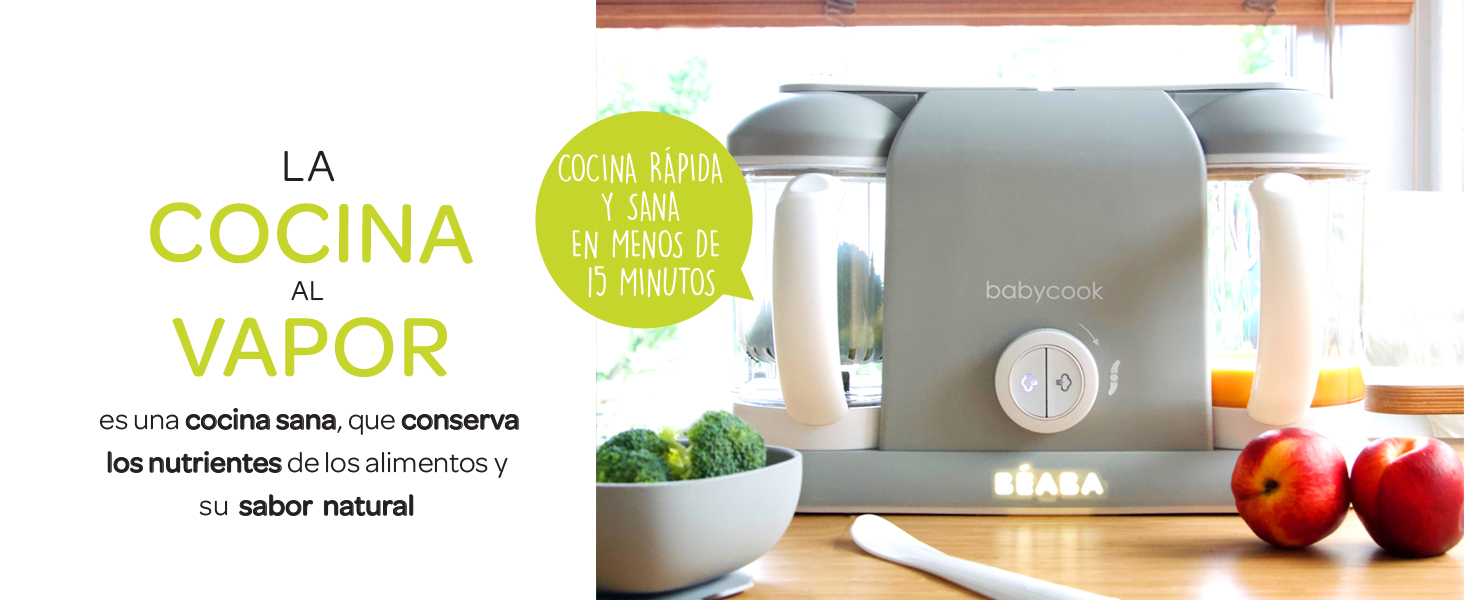 Béaba Babycook Duo Robot de cocina infantil 4 en 1, Tritura ...