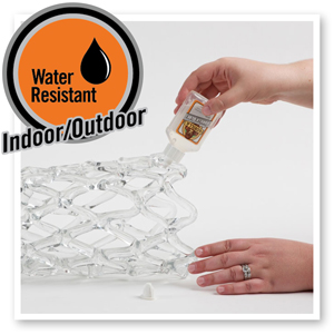 Clear Glue water resistant indoor outdoor clear glue