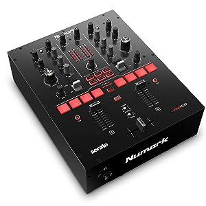 Numark Scratch - Mezclador de DJ, dos canales scratch para ...