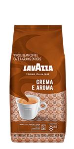 lavazza, crema, e, aroma, espresso, coffee