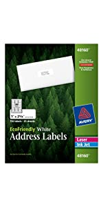 Avery Environment Friendly Address Labels