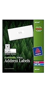 Avery Environment Friendly Address Labels