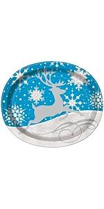 Amazon.com: Holiday Snowflake Paper Ice Cream Cups, 8ct: Kitchen ...