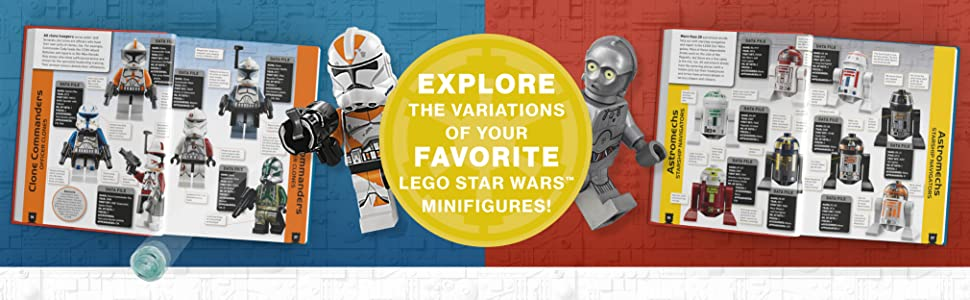 Explore the variations of your favorite LEGO Star Wars Minifigures!