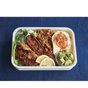 チキンと野菜のドライカレー