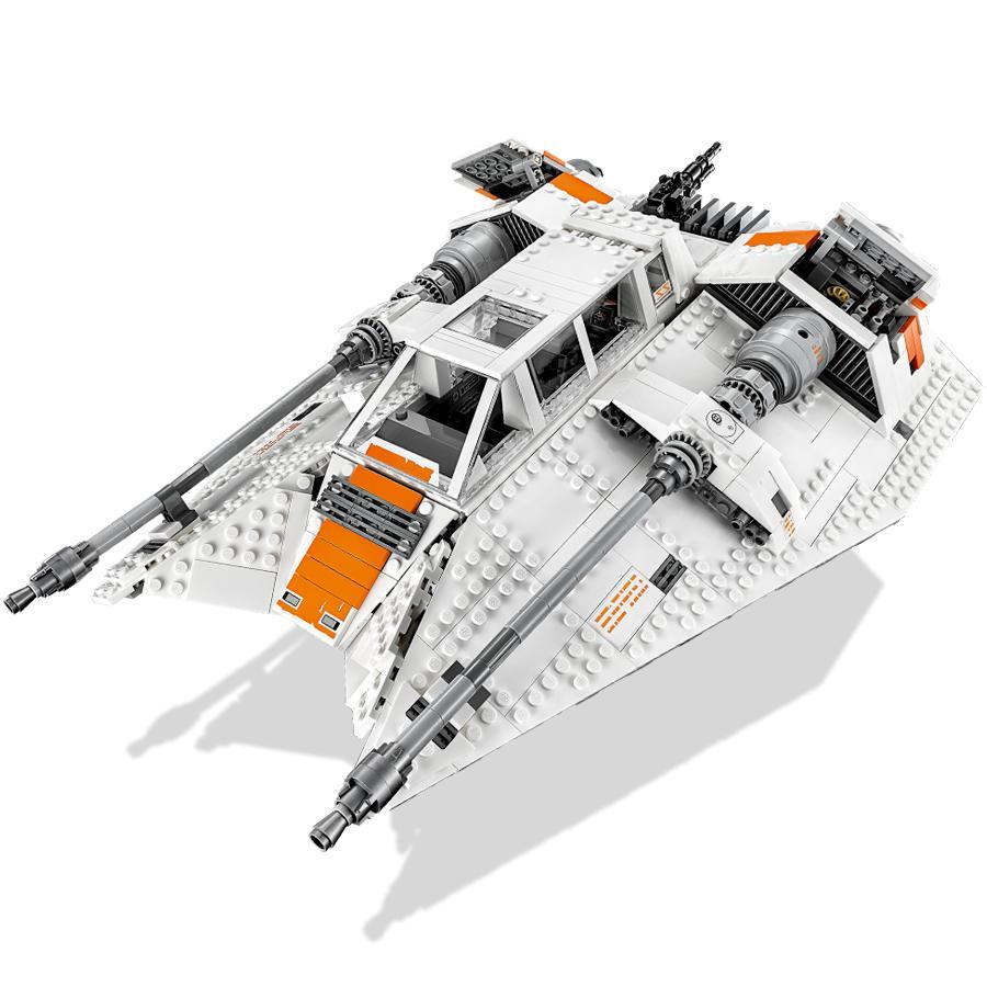 amazoncom lego star wars snow speeder 75144 building kit