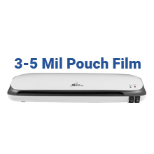 3-5 mil pouch film