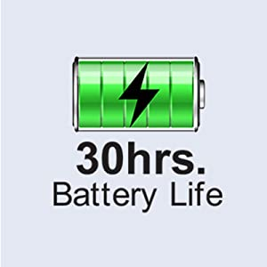 Long battery life for all-day power