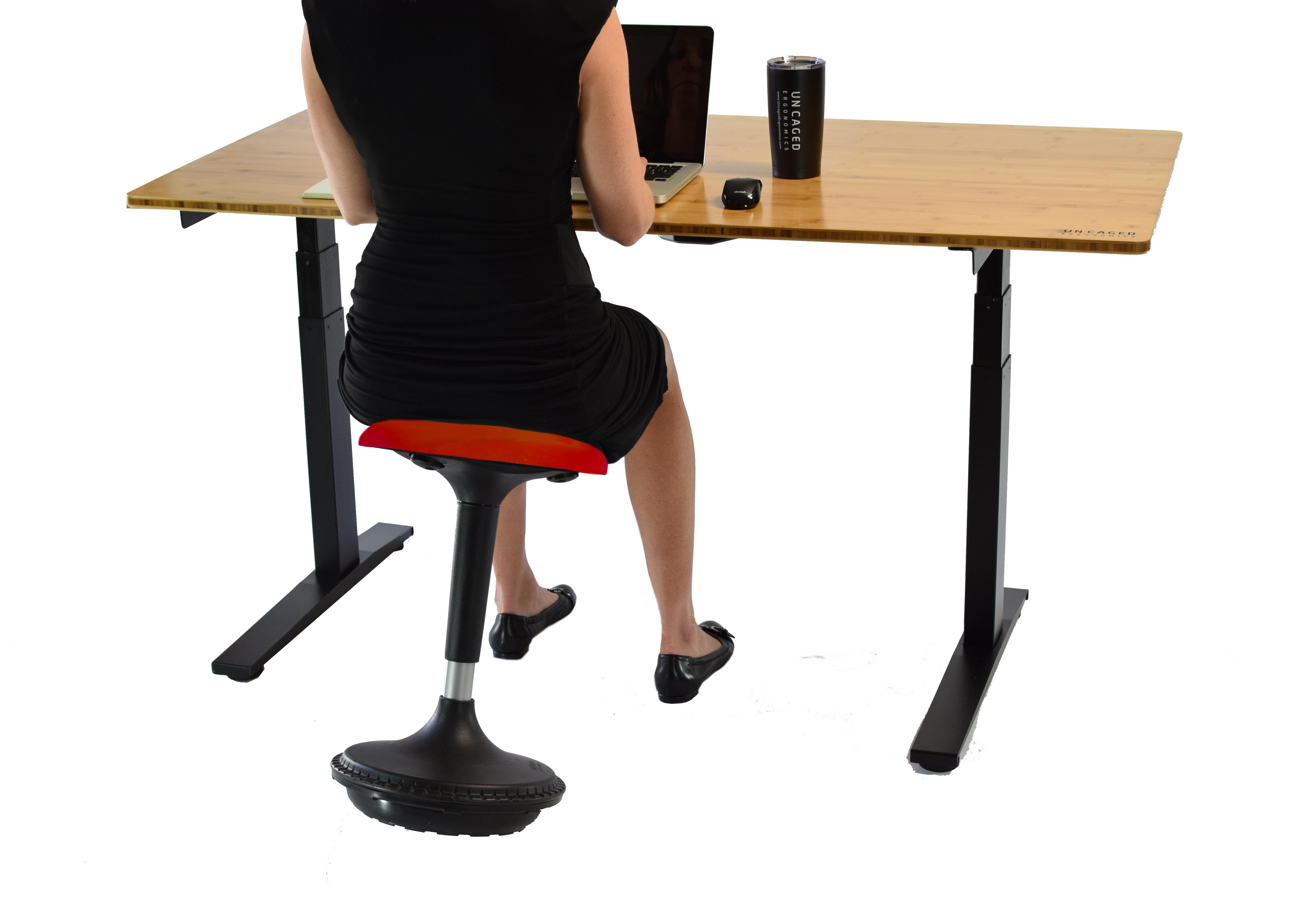 Wobble Stool Adjustable Height Active Sitting Balance