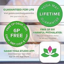 Gaiam Insta-Grip Yoga Mat