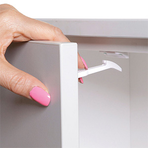 safety catches for cabinets