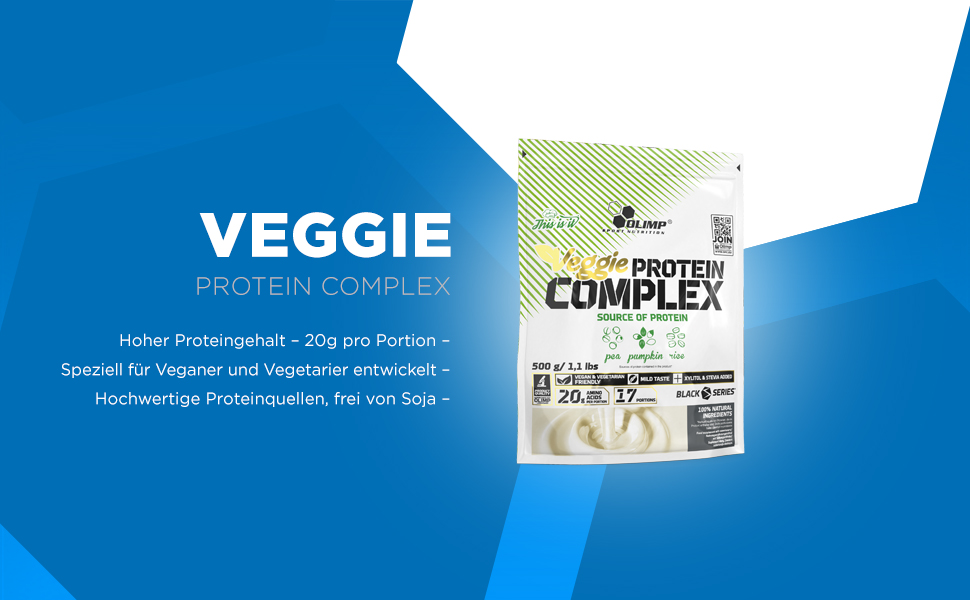 Olimp Sport Nutrition Veggie Protein Complex Neutro 24 ...