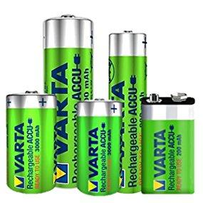 Varta ACCU - Pack de 4 pilas AA recargables (NiMH, 2600