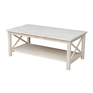 Outstanding International Concepts Hampton Console Or Sofa Table Unfinished Pdpeps Interior Chair Design Pdpepsorg