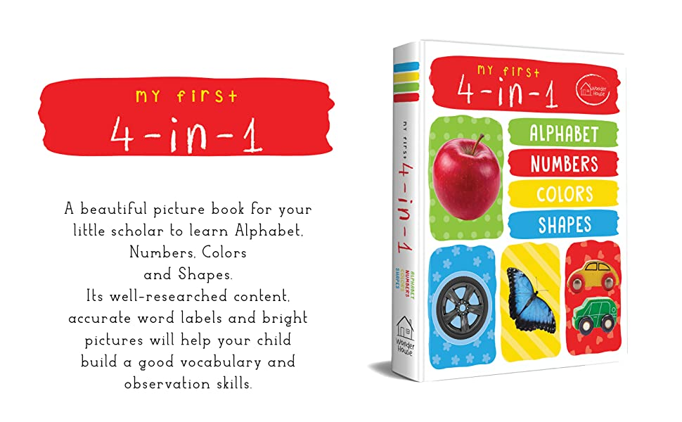 My First 4-in-1(Padded Board Book)