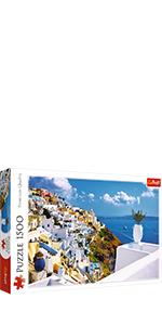 Santorini Puzzle 1500 pièces
