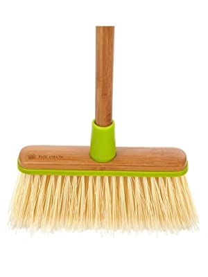Dust, Pan, Broom, Angled, Cleaning, Kitchen, Home, Bamboo, Sweep, Mop, Natural