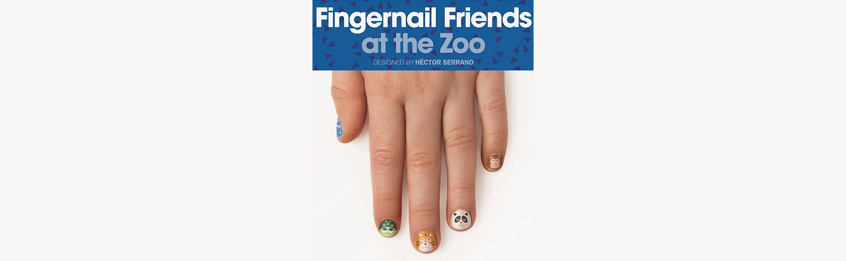 Amazon.com: NPW USA At The Zoo Fingernail Friends Nail Stickers (25 ...