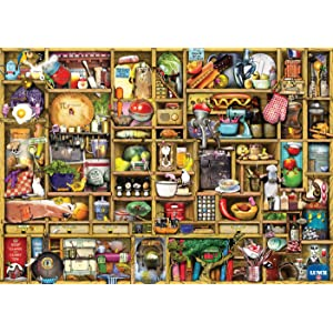 ravensburger,colin,thompson,curious,cupboard,kitchen,craft,christmas,inventors,puzzle,piece,jigsaw,