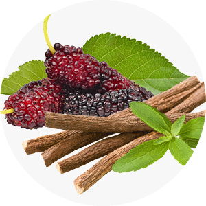 Mulberry and liquorice extracts help lighten skin tone