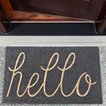 kentucky welcome mat, grey welcome mat, hello welcome mat, welcom mat, hi rug, welcome