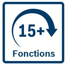 +15 fonctions