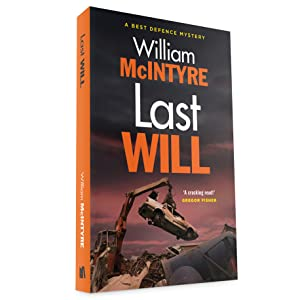 Last Will: Car theft, high fashion, legal thriller, Robbie Munro, lawyer, parenting, humour