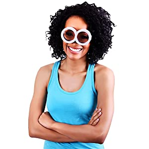 Sunglasses, licensed, official, character, sun, staches, fun, party, favors, costume, accessory