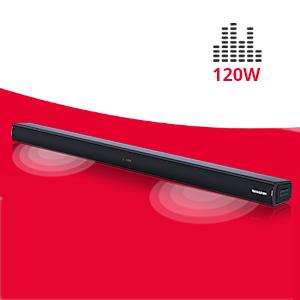 Sharp Ht Sb150 2 0 Bluetooth Soundbar Mit Hdmi Arc Cec 120w Gesamtleistung 92 Cm Schwarz Heimkino Tv Video