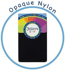 girls Opaque nylon tights