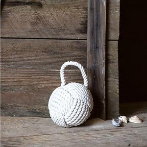 nautical rope door weight