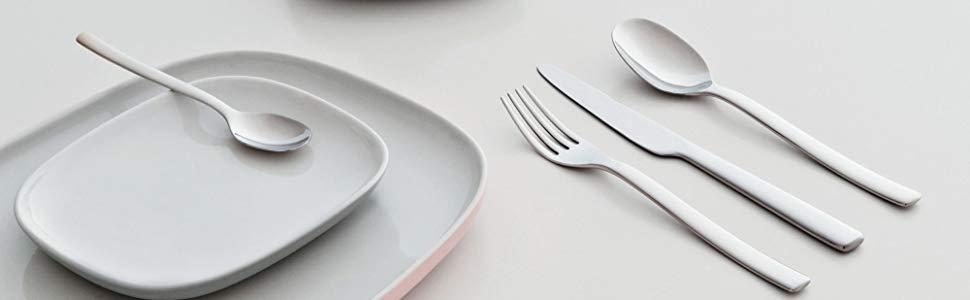 Alessi Das Besteckservice Ovale, design Made in Italy, Besteck, Besteck set