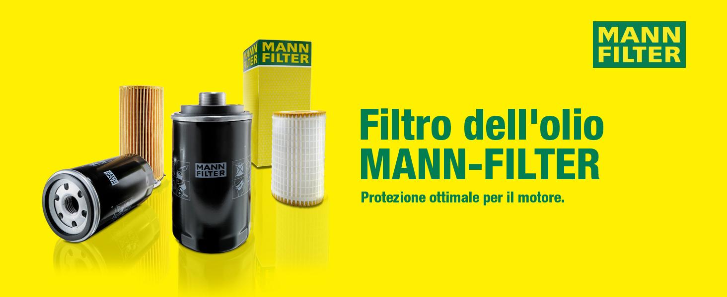 Per Automobili e Veicoli Commerciali Originale MANN-FILTER Filtro Olio W 77
