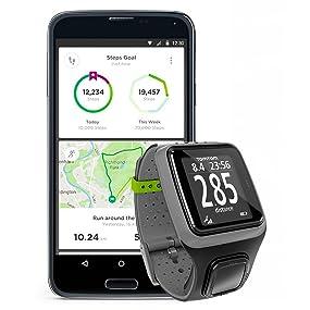 TomTom Runner - Reloj con GPS para correr, color Negro, Talla ...