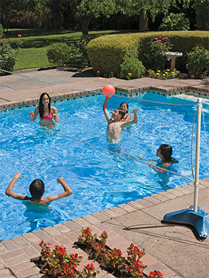 pool net volleyball;volleyball pool set;intex pool volleyball;pool volleyball game;outdoor games