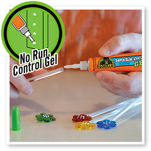 Precision Tip and no run control gel give you confidence