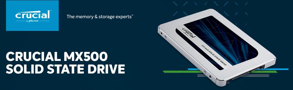 Crucial MX500 2.5 SSD