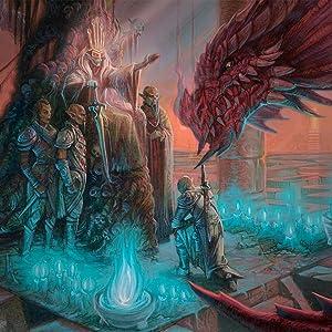 Gith and a Dragon