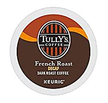 Tully's, Coffee, Keurig, kcup, k-cup, k cup, single serve pod, coffee, onecup