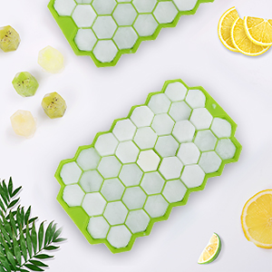 silicone ice tray with lids