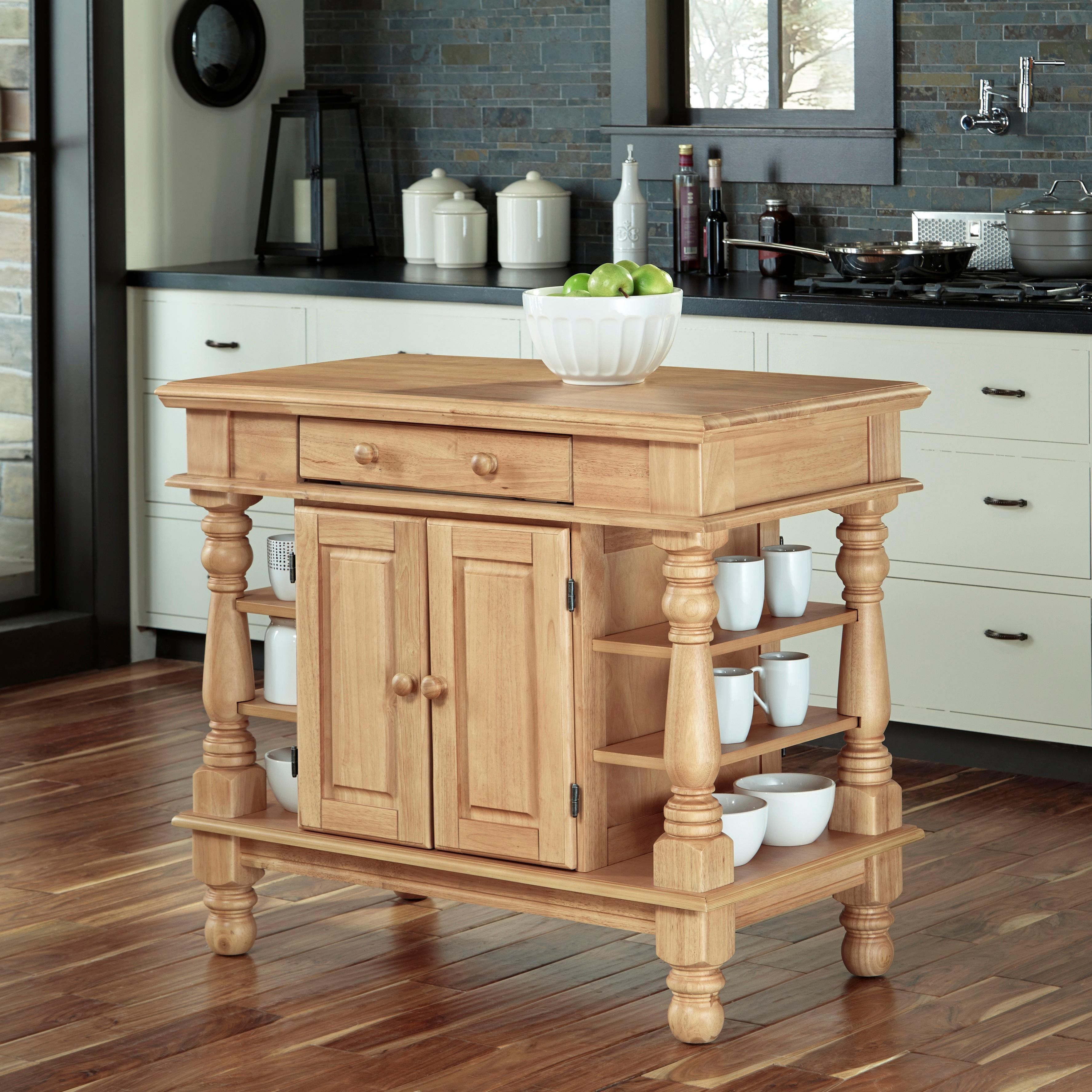 americana kitchen island antique white finish amazon com  home styles 5094 94 americana kitchen island antique      rh   amazon com